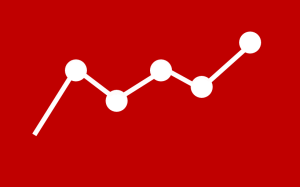 business analytics red